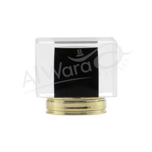 AWC-00120 BLACK W-GOLD RING
