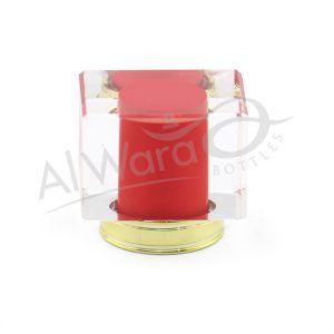 AWC-00120 RED W-GOLD RING