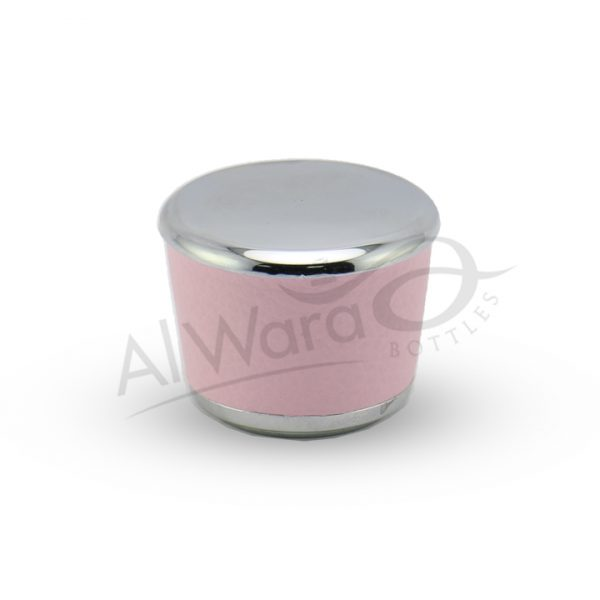 AWC-00151 SILVER LIGHT PINK LEATHER