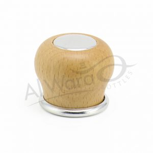 AWC-00217 SILVER W-NATURAL WOOD