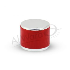 AWC-00949 SILVER RED RING